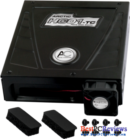 Arctic HC01-TC Hard Drive Cooler Review