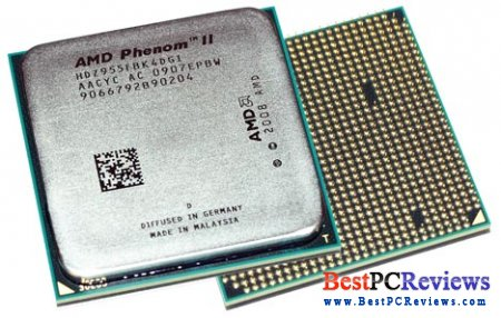AMD Phenom II X4 955 AM3 CPU Review