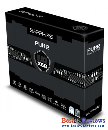 Sapphire Pure Black X58 Review