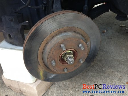 Infiniti i35 (Maxima) rotors and brake pads replacement