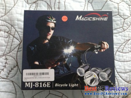 MagicShine MJ-816 LED Bike Light Review