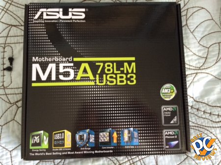 ASUS M5A78L-M USB3 Motherboard Review