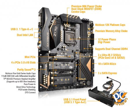 ASRock Z170 Extreme7+ Review