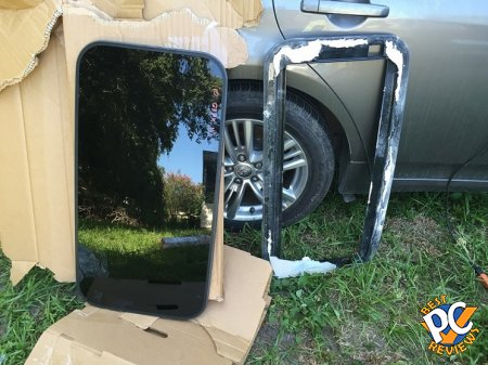 Infiniti G37 sedan sunroof glass replacement