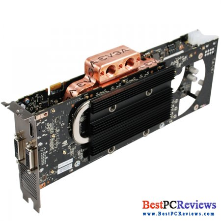 EVGA GeForce 9800 GX2 Hydro Copper